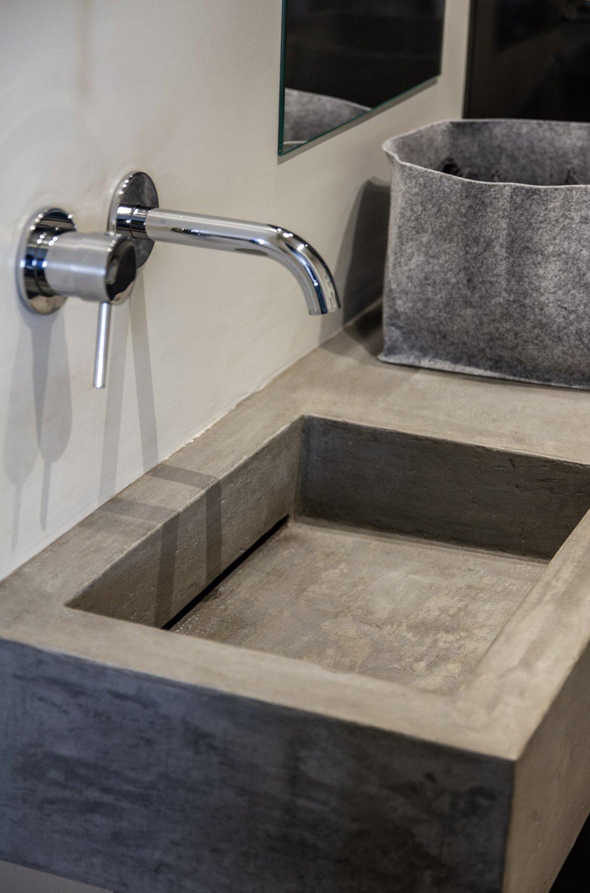 lavabo cemento - A Casa di Ro