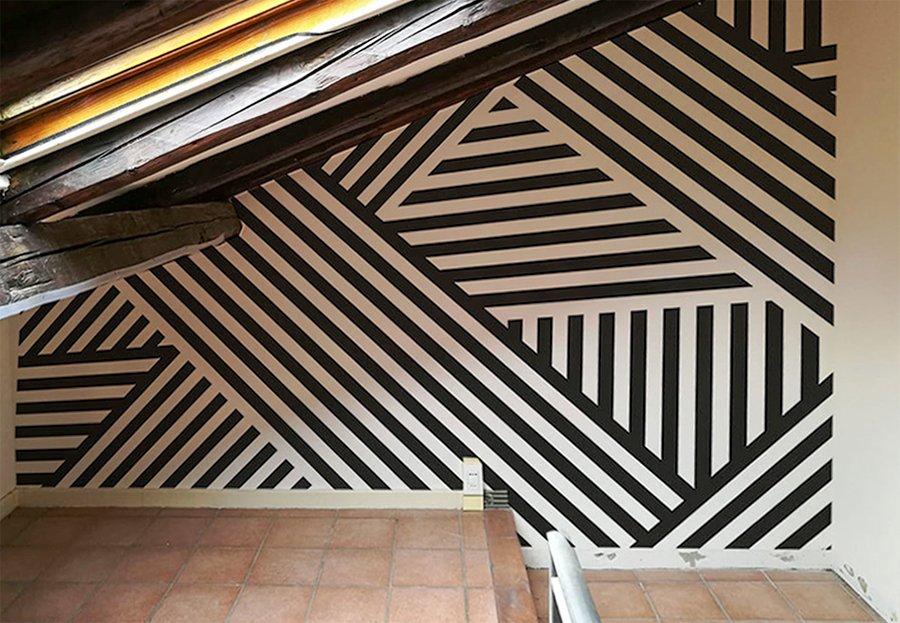 carta parati geometrica