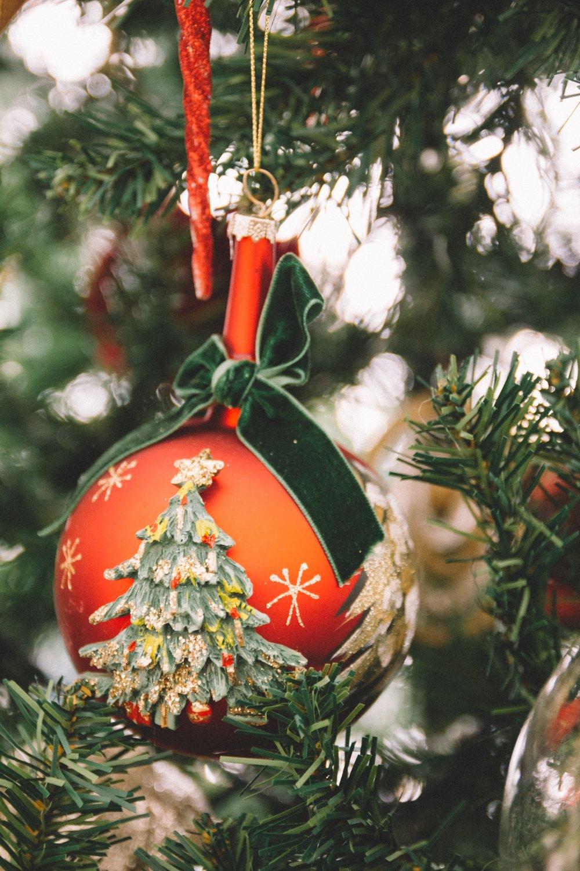 Natale bordeaux