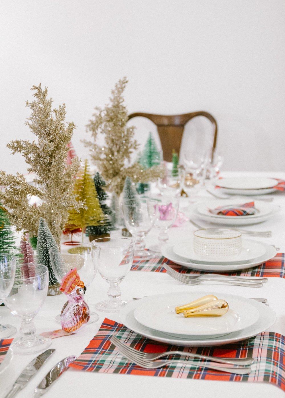 centrotavola alberi Natale