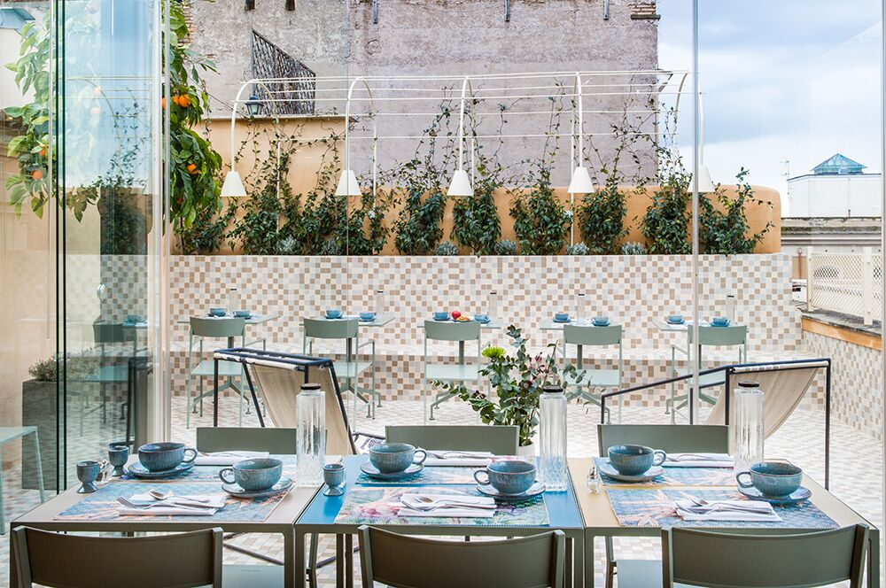 terrazza hotel Roma