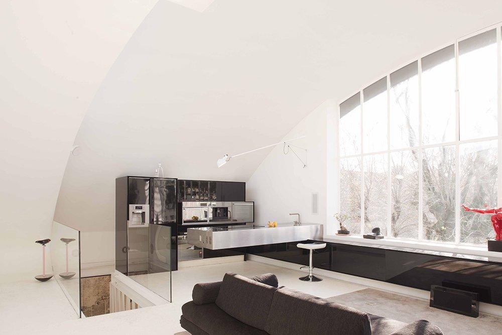 Da officina meccanica a loft 80 mq custom made a casa di ro - Interior designer bologna ...