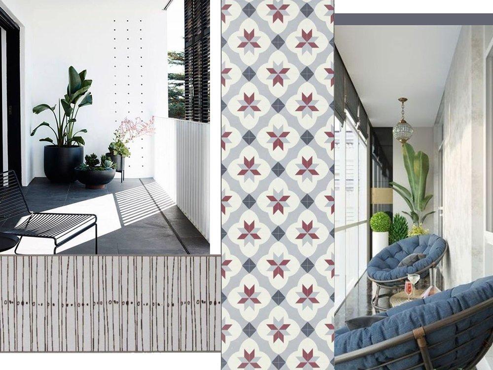 tappeto balcone