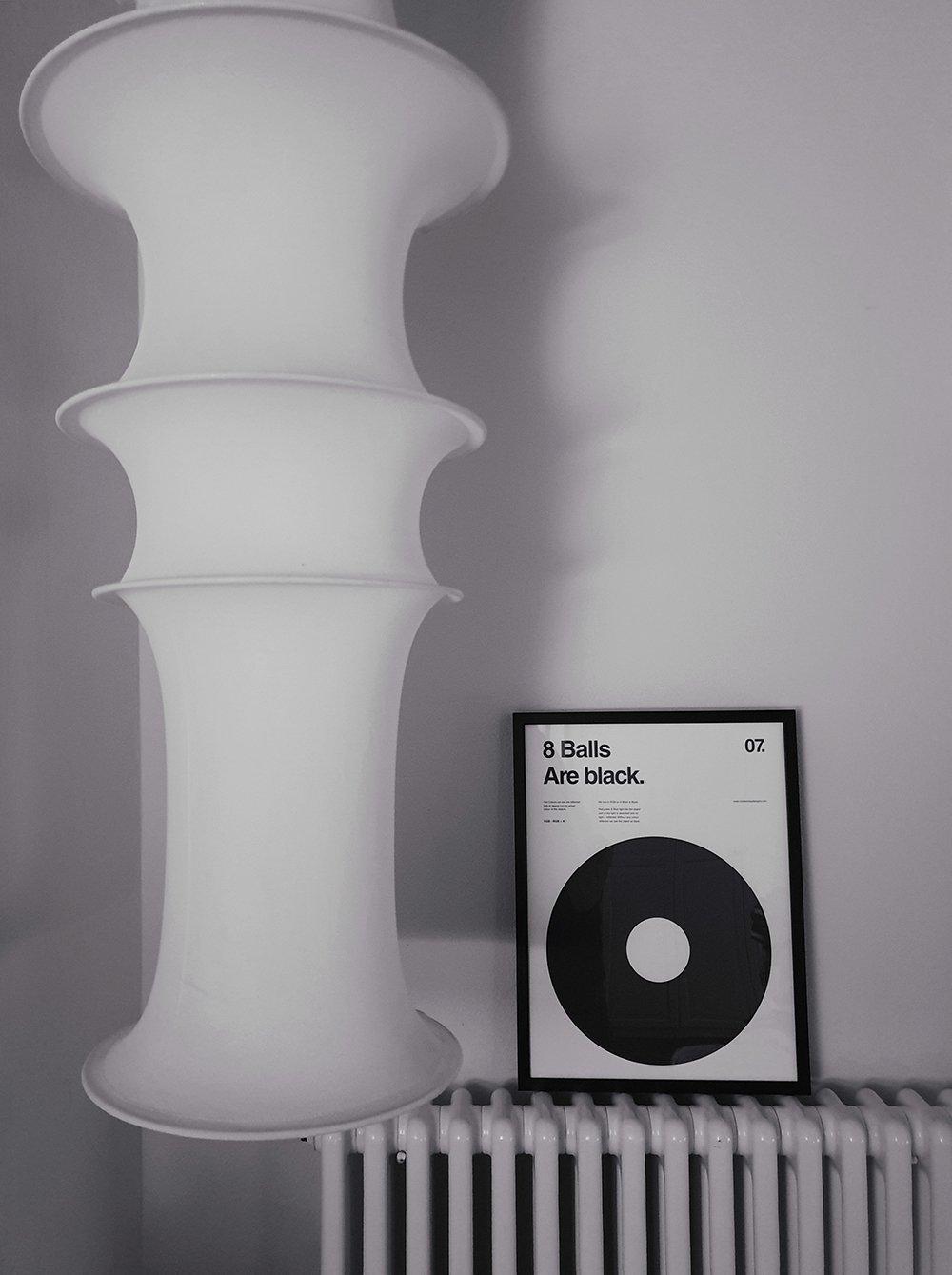 poster bianco e nero