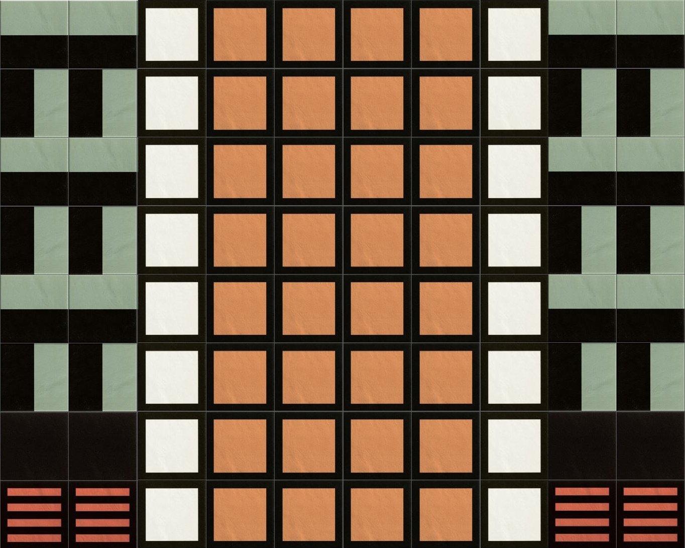 piastrelle quadrate