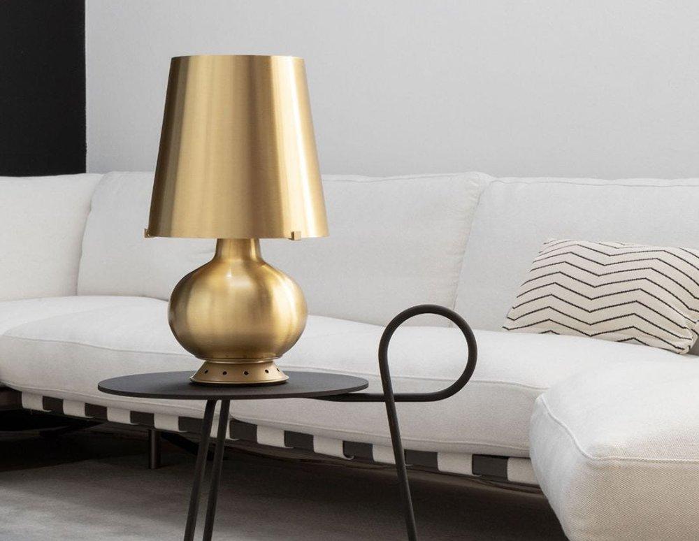 lampada ottone design