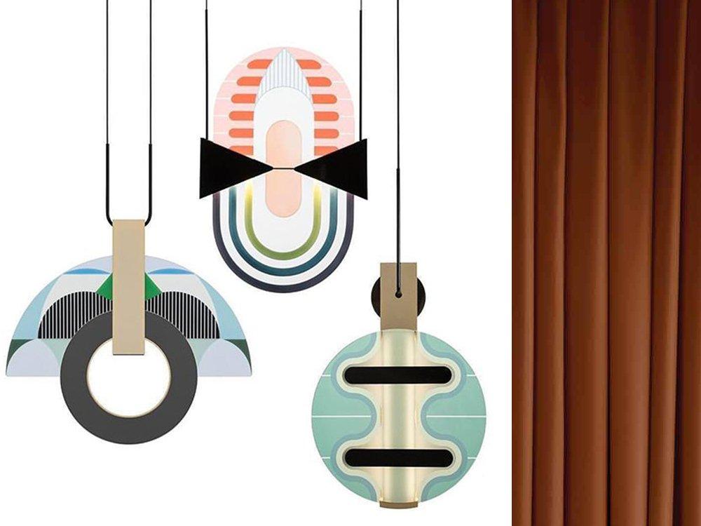 lampade sospensioni colorate