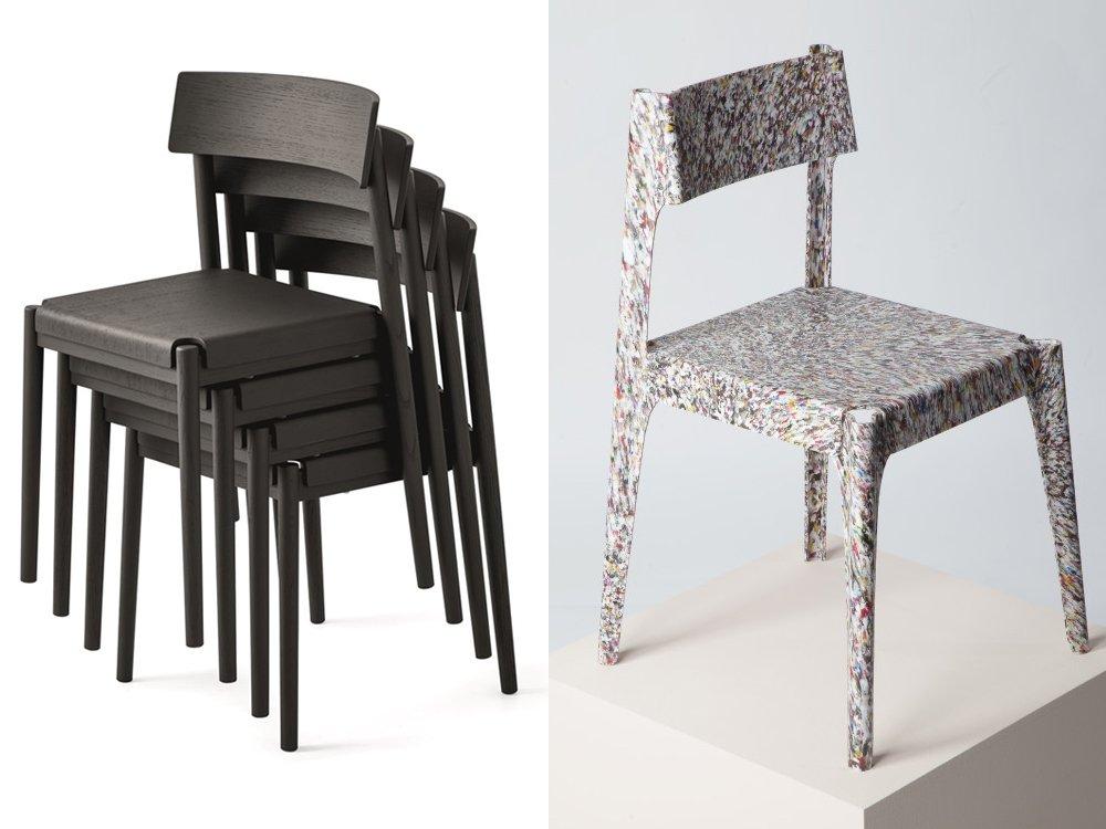 sedie riciclabili