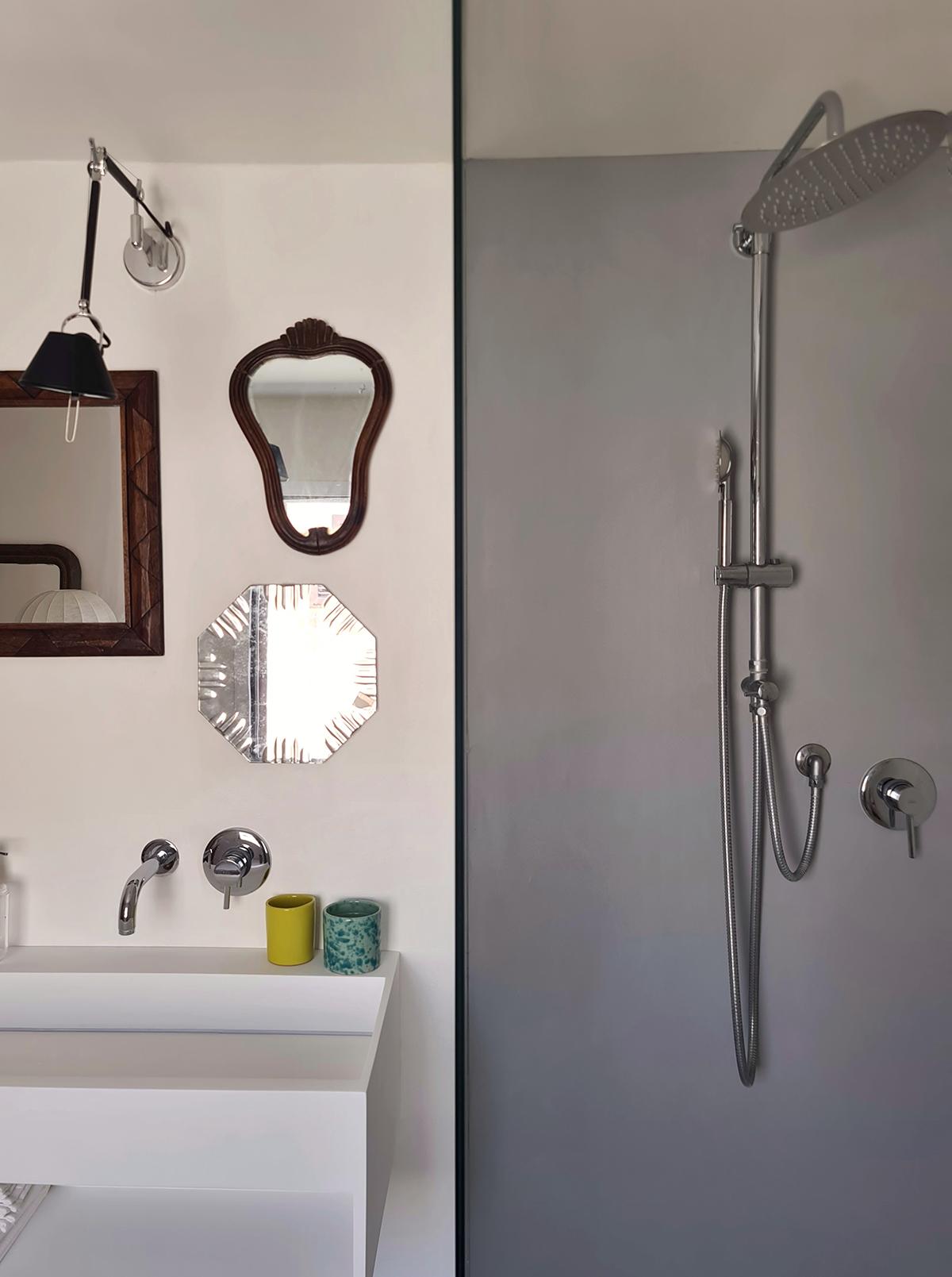 composizione specchi