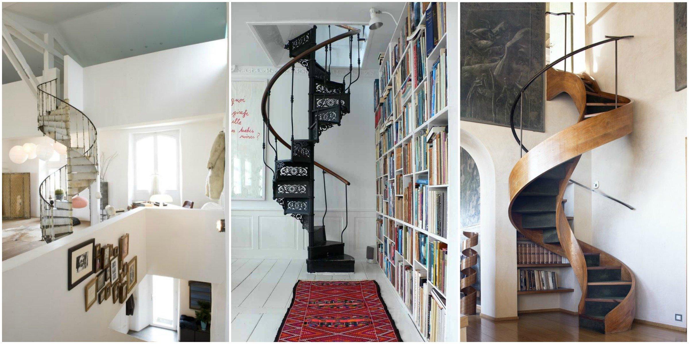 Disegnare Una Scala A Chiocciola parlando di scale - a casa di ro