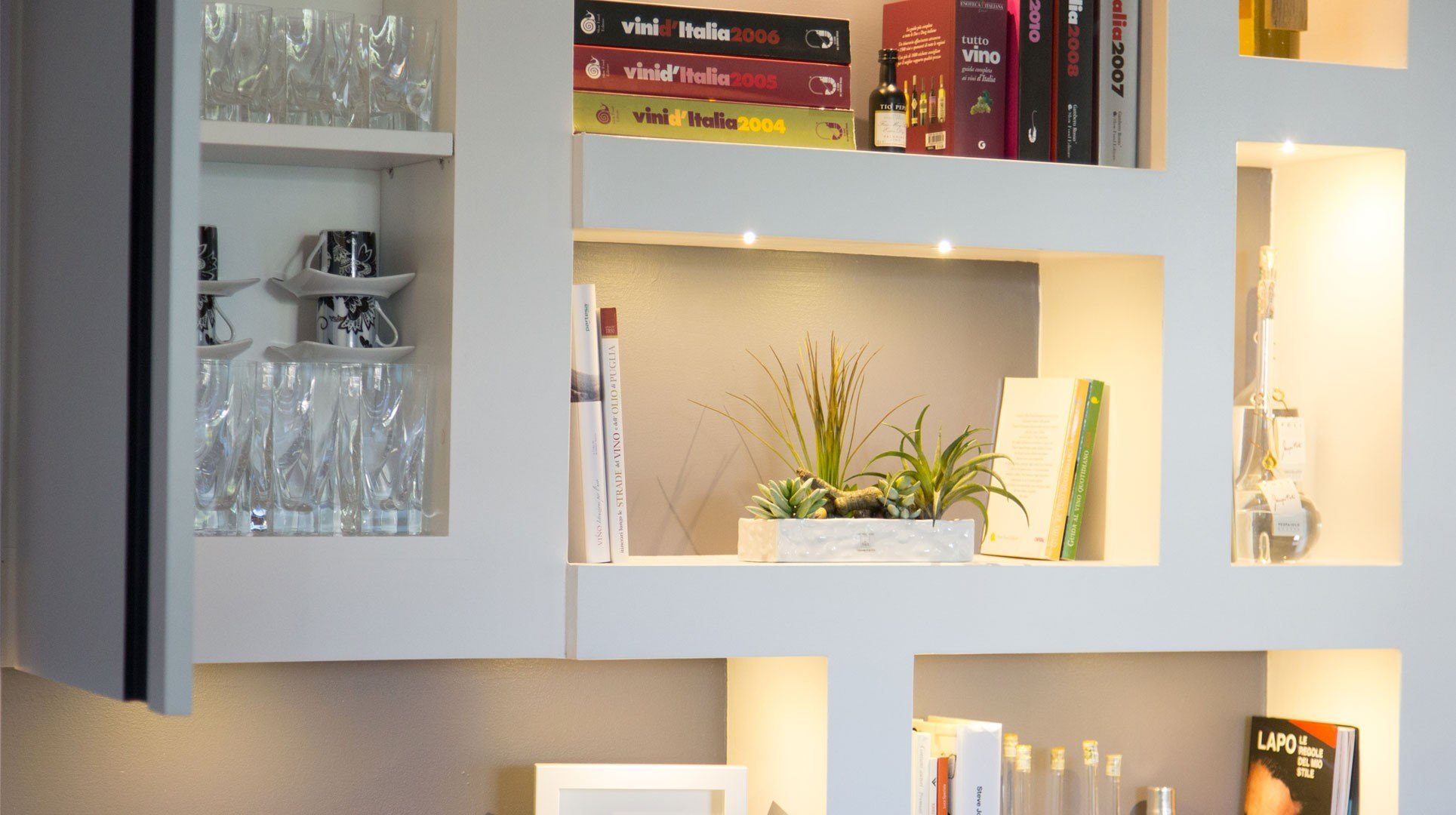 Pareti D Arredo In Cartongesso li ving design studio - a casa di ro