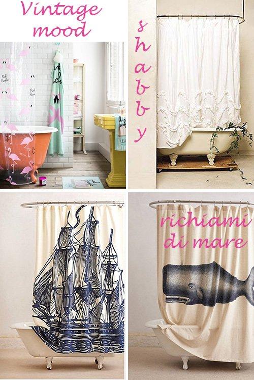 Scegliendo la tenda da bagno - A Casa di Ro