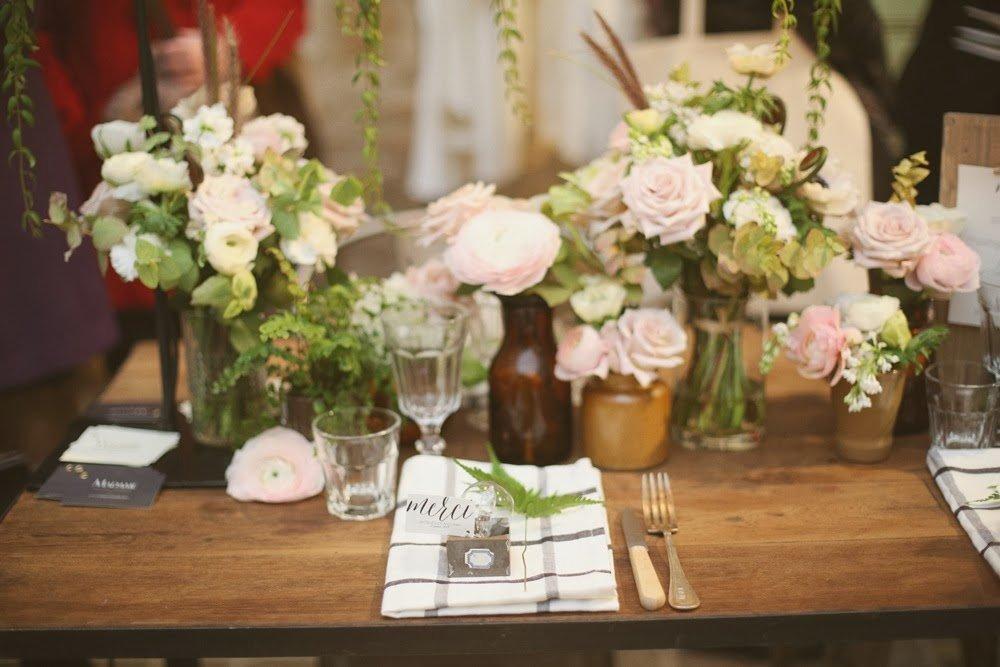 come apparecchiare matrimonio fiori