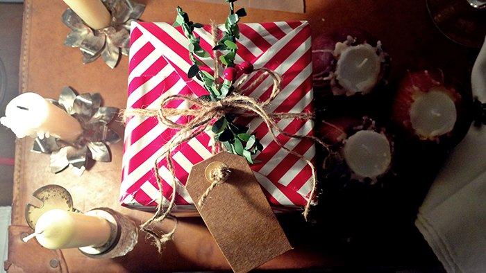 idee tavola di Natale