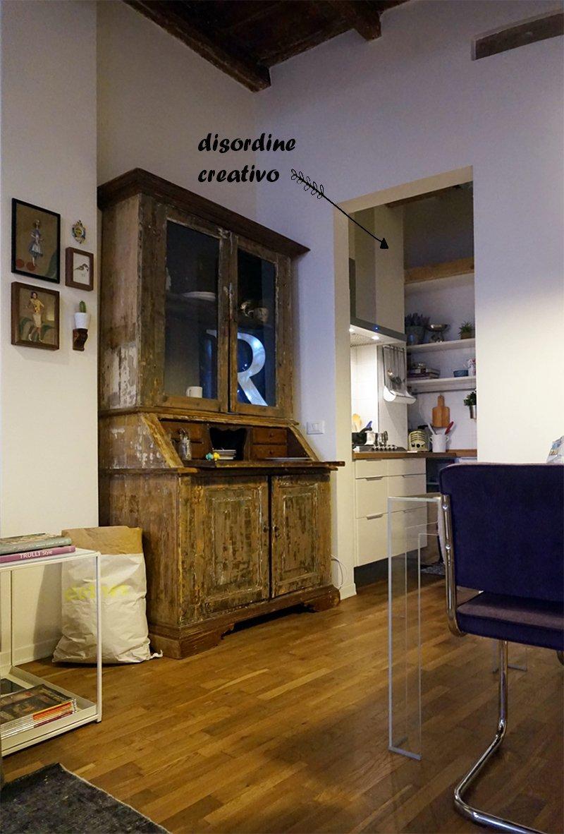 open space living e cucina