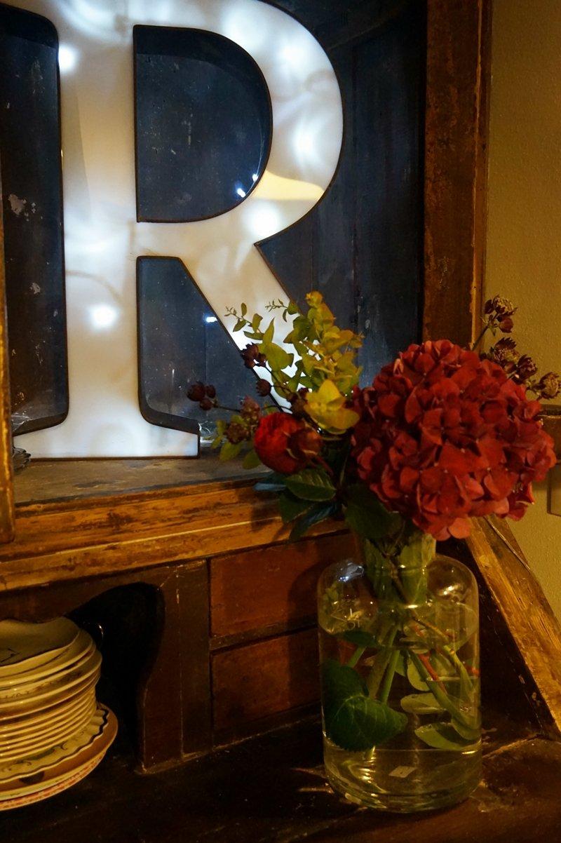 lettere luminose vintage