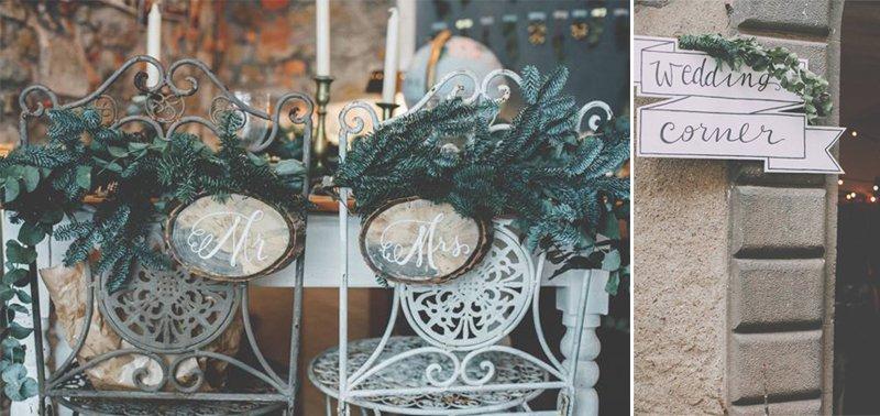 decorare sedie sposi ricevimento