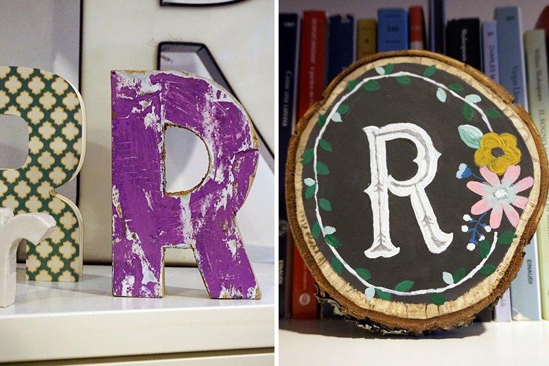 lettere vintage