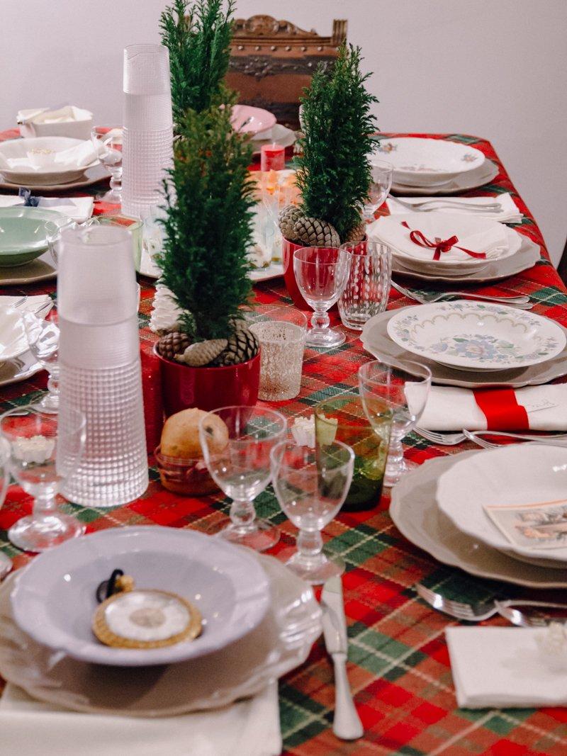 Arredare Tavola Natale natale a casa di ro: la nostra tavola della vigilia - a casa