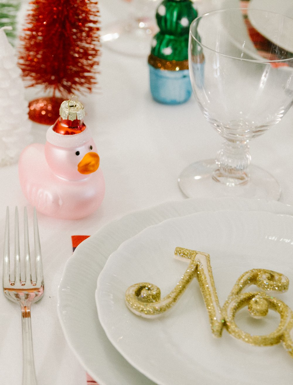tavola Natale bimbi