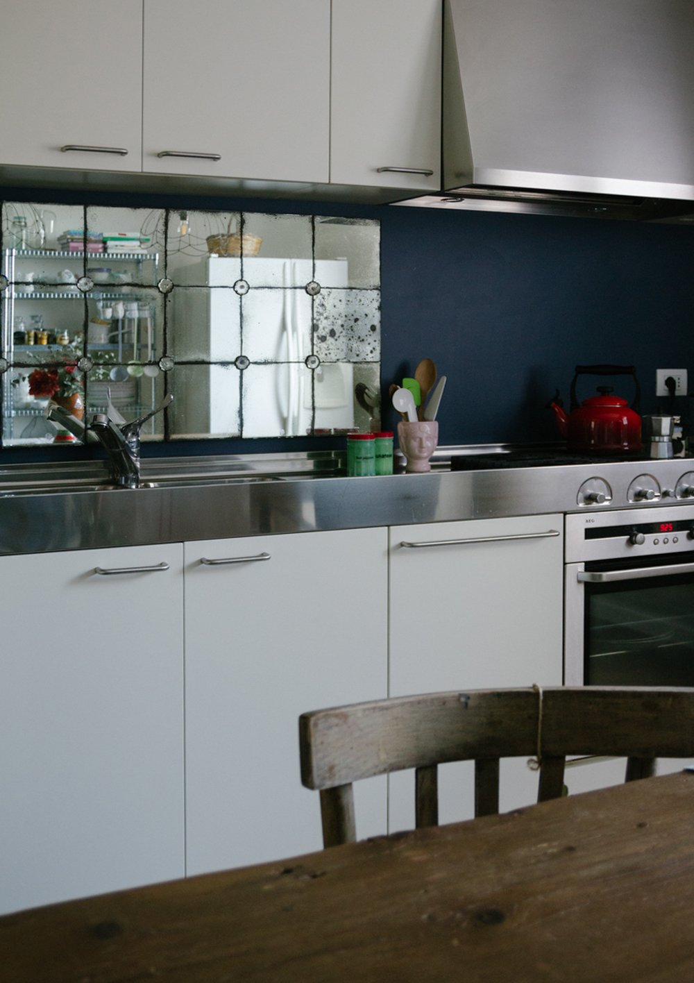 Lo Specchio In Cucina arredare con i colori, i dettagli a casa di francesca - a
