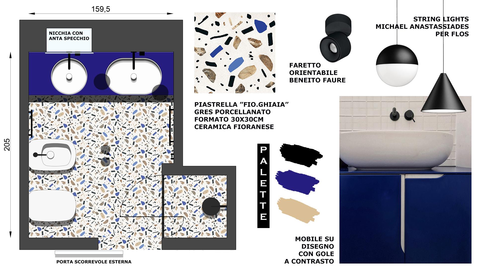 progetto bagno design